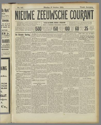 Nieuwe Zeeuwsche Courant 1914-10-27