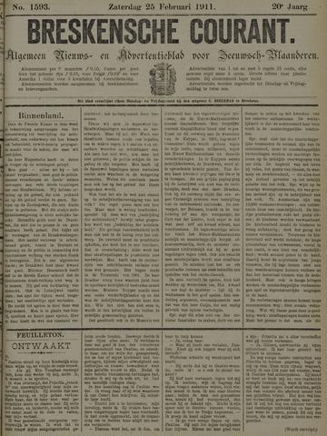 Breskensche Courant 1911-02-25
