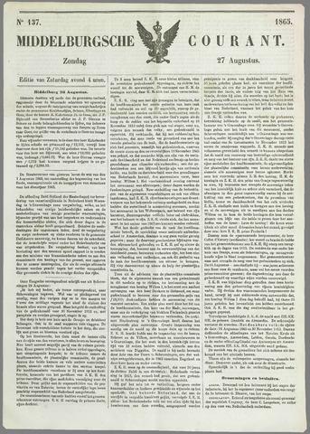 Middelburgsche Courant 1865-08-27