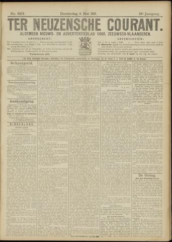 Ter Neuzensche Courant. Algemeen Nieuws- en Advertentieblad voor Zeeuwsch-Vlaanderen / Neuzensche Courant ... (idem) / (Algemeen) nieuws en advertentieblad voor Zeeuwsch-Vlaanderen 1915-05-06