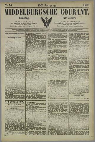 Middelburgsche Courant 1887-03-29