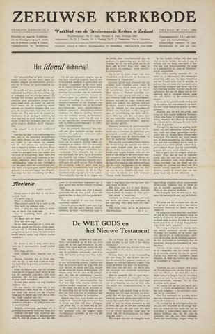 Zeeuwsche kerkbode, weekblad gewijd aan de belangen der gereformeerde kerken/ Zeeuwsch kerkblad 1956-07-27