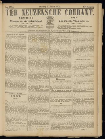 Ter Neuzensche Courant. Algemeen Nieuws- en Advertentieblad voor Zeeuwsch-Vlaanderen / Neuzensche Courant ... (idem) / (Algemeen) nieuws en advertentieblad voor Zeeuwsch-Vlaanderen 1900-03-20