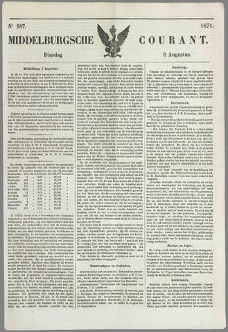 Middelburgsche Courant 1871-08-08