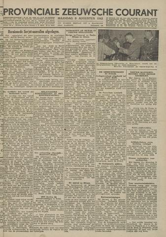 Provinciale Zeeuwse Courant 1943-08-09
