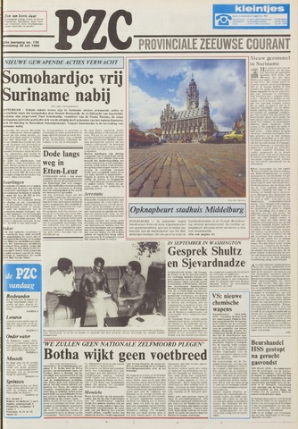 Provinciale Zeeuwse Courant 1986-07-30