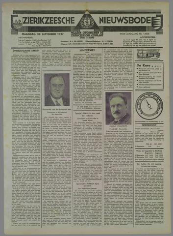 Zierikzeesche Nieuwsbode 1937-09-20