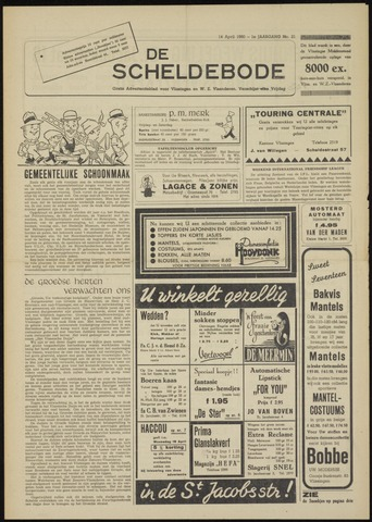 Scheldebode 1950-04-14