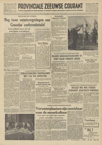 Provinciale Zeeuwse Courant 1954-05-10