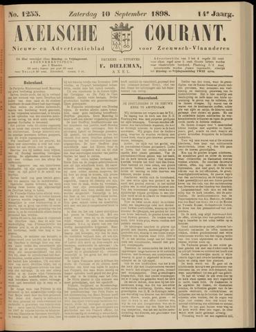 Axelsche Courant 1898-09-10