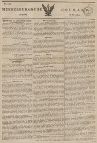 Middelburgsche Courant 1843-11-14