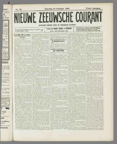 Nieuwe Zeeuwsche Courant 1908-02-22