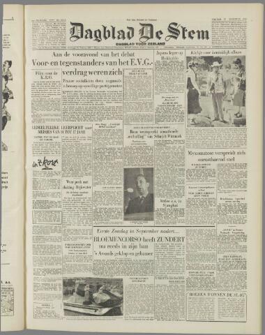 de Stem 1954-08-27
