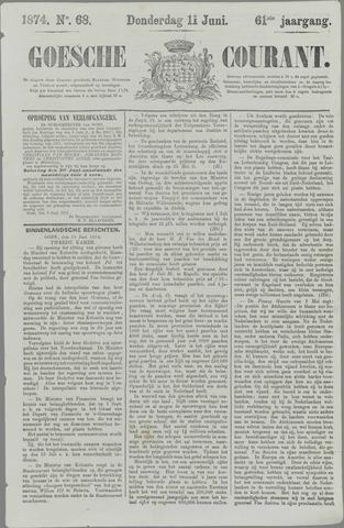 Goessche Courant 1874-06-11