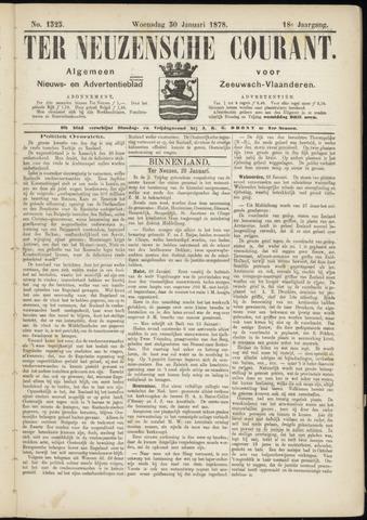 Ter Neuzensche Courant. Algemeen Nieuws- en Advertentieblad voor Zeeuwsch-Vlaanderen / Neuzensche Courant ... (idem) / (Algemeen) nieuws en advertentieblad voor Zeeuwsch-Vlaanderen 1878-01-30