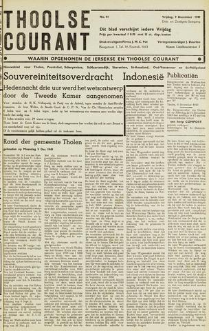 Ierseksche en Thoolsche Courant 1949-12-09