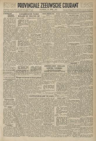 Provinciale Zeeuwse Courant 1945-04-14