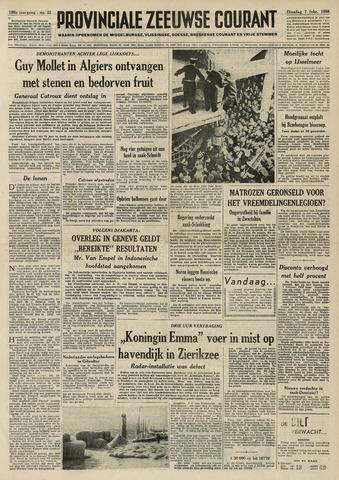 Provinciale Zeeuwse Courant 1956-02-07