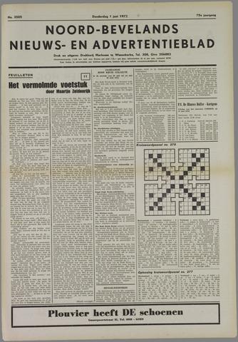 Noord-Bevelands Nieuws- en advertentieblad 1972-06-01