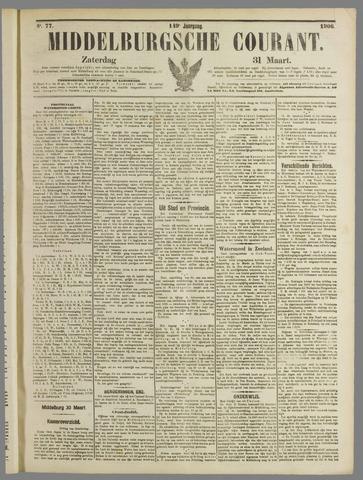 Middelburgsche Courant 1906-03-31