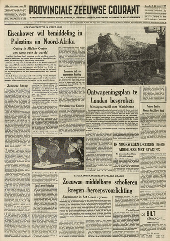 Provinciale Zeeuwse Courant 1956-03-22