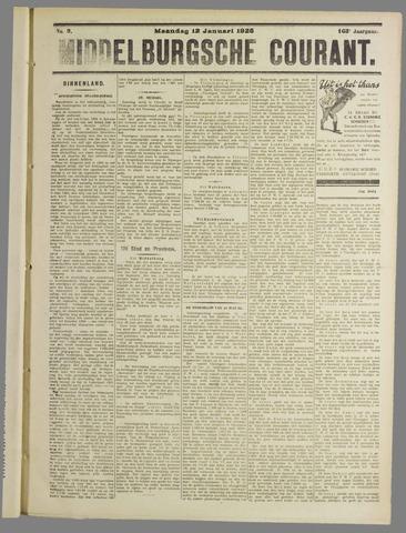 Middelburgsche Courant 1925-01-12