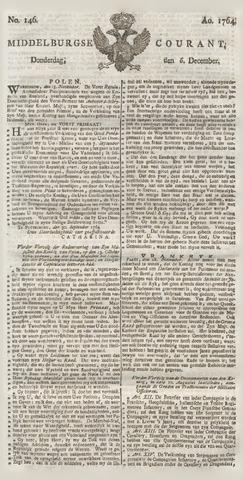 Middelburgsche Courant 1764-12-06