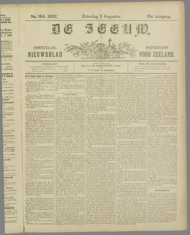 De Zeeuw. Christelijk-historisch nieuwsblad voor Zeeland 1902-08-02
