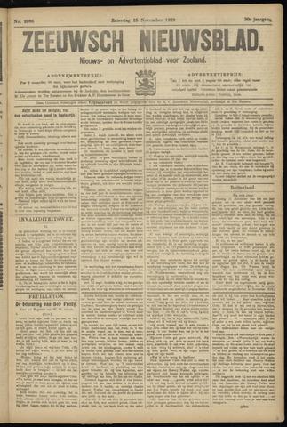 Ter Neuzensch Volksblad. Vrijzinnig nieuws- en advertentieblad voor Zeeuwsch- Vlaanderen / Zeeuwsch Nieuwsblad. Nieuws- en advertentieblad voor Zeeland 1919-11-15