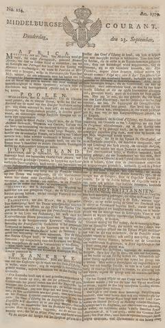 Middelburgsche Courant 1779-09-23
