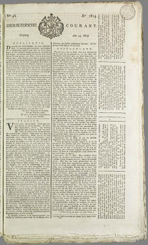Zierikzeesche Courant 1814-05-27