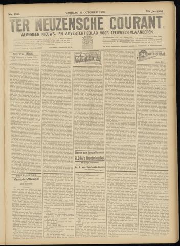Ter Neuzensche Courant. Algemeen Nieuws- en Advertentieblad voor Zeeuwsch-Vlaanderen / Neuzensche Courant ... (idem) / (Algemeen) nieuws en advertentieblad voor Zeeuwsch-Vlaanderen 1930-10-31