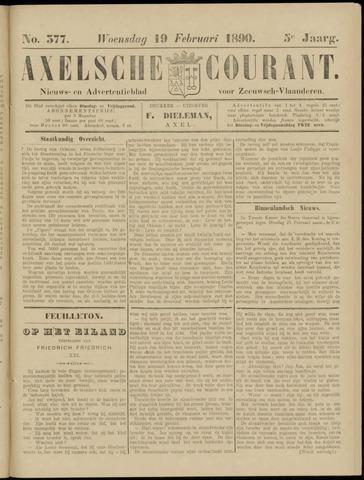 Axelsche Courant 1890-02-19