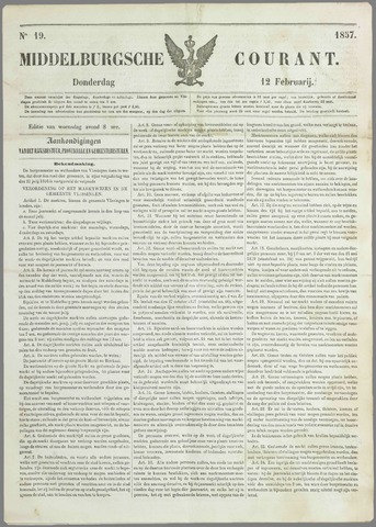 Middelburgsche Courant 1857-02-12