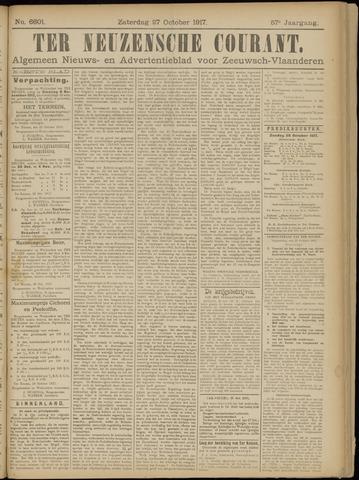 Ter Neuzensche Courant. Algemeen Nieuws- en Advertentieblad voor Zeeuwsch-Vlaanderen / Neuzensche Courant ... (idem) / (Algemeen) nieuws en advertentieblad voor Zeeuwsch-Vlaanderen 1917-10-27