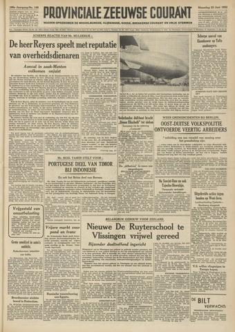 Provinciale Zeeuwse Courant 1952-06-23