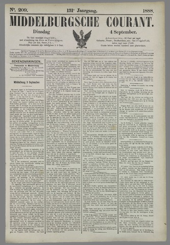 Middelburgsche Courant 1888-09-04