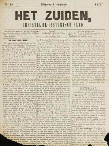 Het Zuiden, Christelijk-historisch blad 1876-08-01