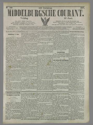 Middelburgsche Courant 1891-06-12