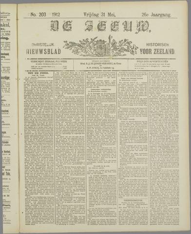 De Zeeuw. Christelijk-historisch nieuwsblad voor Zeeland 1912-05-31