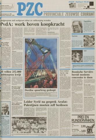 Provinciale Zeeuwse Courant 1993-09-06
