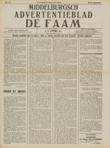 de Faam en de Faam/de Vlissinger 1907-09-25
