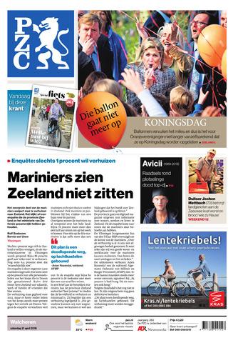 Provinciale Zeeuwse Courant 2018-04-21