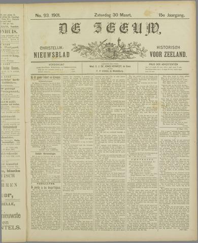 De Zeeuw. Christelijk-historisch nieuwsblad voor Zeeland 1901-03-30
