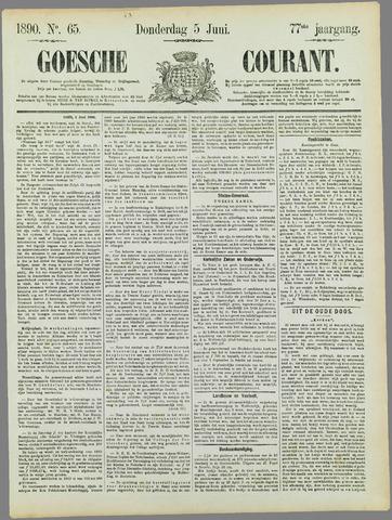Goessche Courant 1890-06-05