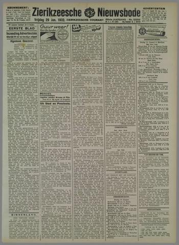 Zierikzeesche Nieuwsbode 1932-01-29