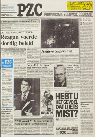 Provinciale Zeeuwse Courant 1987-02-27