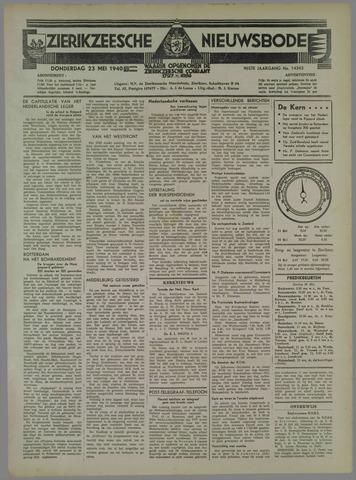 Zierikzeesche Nieuwsbode 1940-05-23