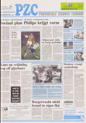 Provinciale Zeeuwse Courant 1990-11-22