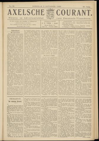 Axelsche Courant 1933-10-03